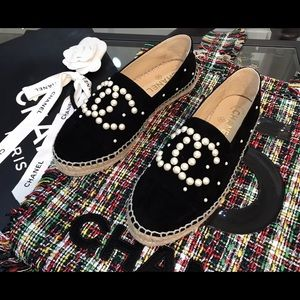 New chanel espadrilles size 36/US 6